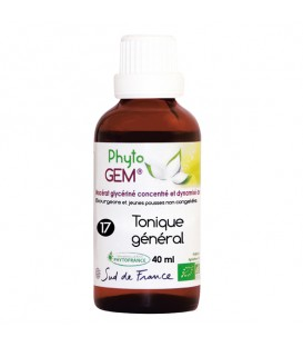 17 - GEMMO TONIQUE GENERAL - 40ml